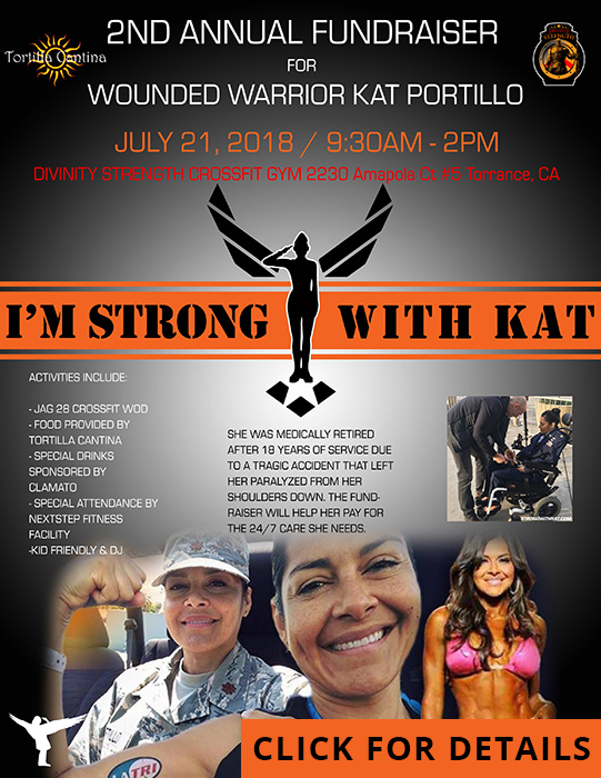 Strong with Kat fundraiser banner image